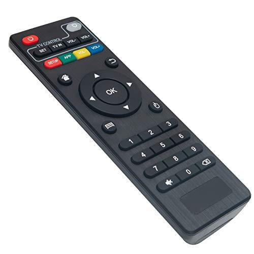 AIDITIYMI Remote Control Replace for Android TV Box Set-Top Box IPTV Media Player MXQ PRO 4K, MXQ PRO, W95 4K, T95 Super,Q+, T95 S1, T95 S2, T95 Max