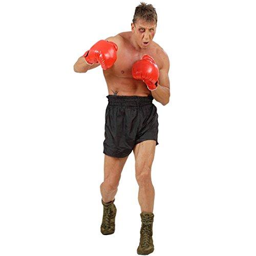 NET TOYS Gants de Boxe Professionnel Gants d'entraînement Champion Rouges Gant entraînement Gants Sportif Gants de Boxe Accessoires déguisement Boxeur
