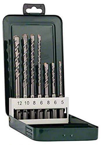 Bosch 7tlg. Hammerbohrer-Set SDS-plus