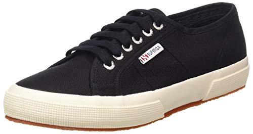 Superga Unisex-Erwachsene 2750 Cotu Classic Sneaker Low-Top, Schwarz (Black S), 41 EU