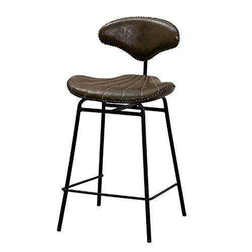 XHCP Taburetes para encimera de Metal Sillas de Comedor de Cocina Silla Alta de Cocina Muebles de Estilo Industrial para Barra de Cocina Cafetería Restaurante Bar de Acero Inoxidable Barra de