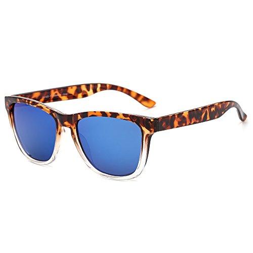 Suertree gafas de sol cuadradas mujeres hombres espejos retro vintage moda 80s90s...