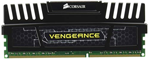 Corsair CMZ16GX3M2A1600C10 Vengeance 16GB (2x8GB) DDR3 1600 MHz (PC3 12800) Desktop Memory 1.5V,Black