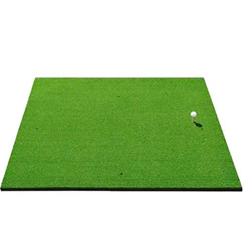 Academy Golf Übungsmatte (100cm X 125cm) – Üben Wie Die Profis Mit Der Aufrollbaren, Tragbaren Abschlagmatte Mit Kunstrasen