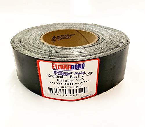 EternaBond RSB-2-50 RoofSeal Sealant Roof Repair Tape, Black (2