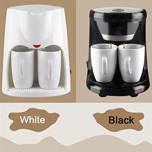 Cafetera Mini Doble Uso eléctrico automático 2 Tazas de