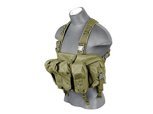 Lancer Tactical CA-308G Cag Tora Bora AK Chest Rig (OD Green)