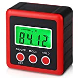 Digital Angle Gauge Level Box,with Backlight and Magnetic Base,Angle Finder,Inclinometer,for Carpentry,Building,Masonry, Automobile Etc