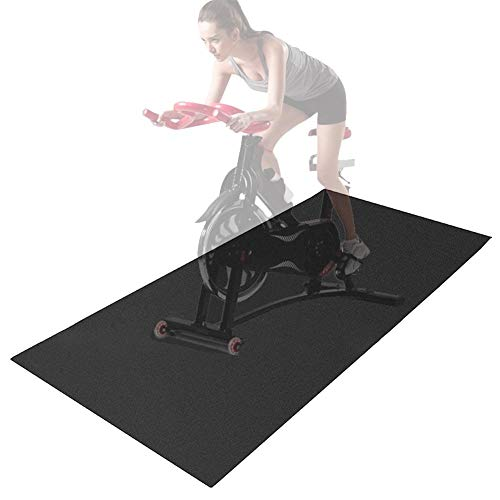 Tappetino pieghevole per attrezzature per il fitness e protezione del pavimento per tapis roulant,cyclette,tappetino per accessori resistente alle vibrazioni di smorzamento (24 pollici per 70 pollici)