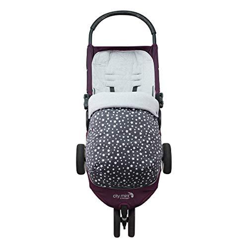 JANABEBE Saco para Baby Jogger City Mini Joolz WINTER SKY, ALGODON