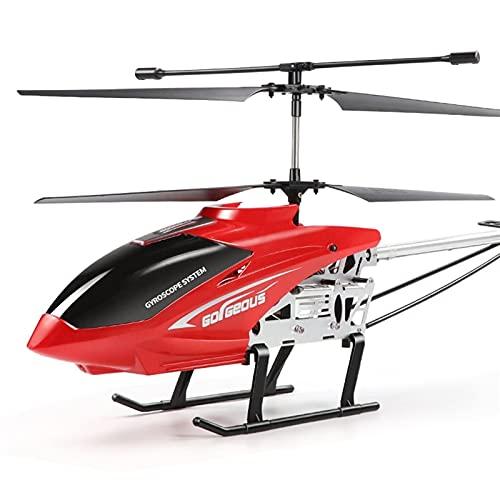 Juguete para niños Regalo de 3,5 canales Control remoto de aleación Helicóptero Super Large 77 CM Control remoto Aviones Profesional Profesional Drone Modelo Juguete Anti-Fall Collision Smart Suspensi