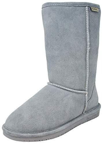 BEARPAW Women's Emma Mid Boot, Grey Fog 7 M US