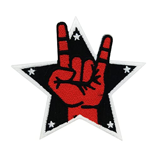 Finally Home Rock Stern Patches zum Aufbügeln | Musik Patch, Bügelflicken, Flicken, Aufnäher