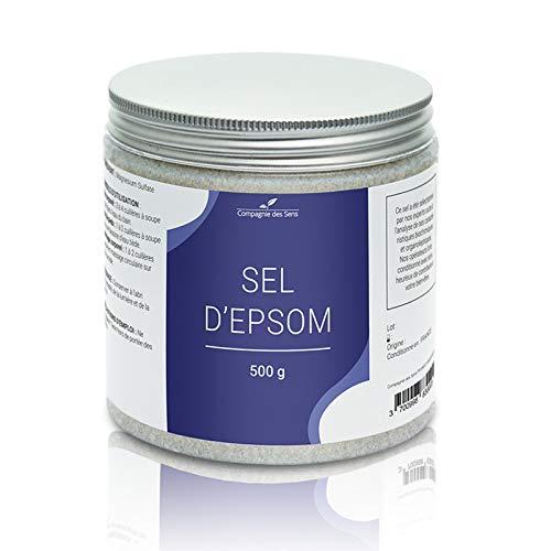 Sel d'Epsom - La Compagnie des Sens - 500g - Sel pour le bain, gommages, bain de pieds