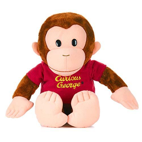KIDS PREFERRED Curious George Monkey Plush - Classic George 12