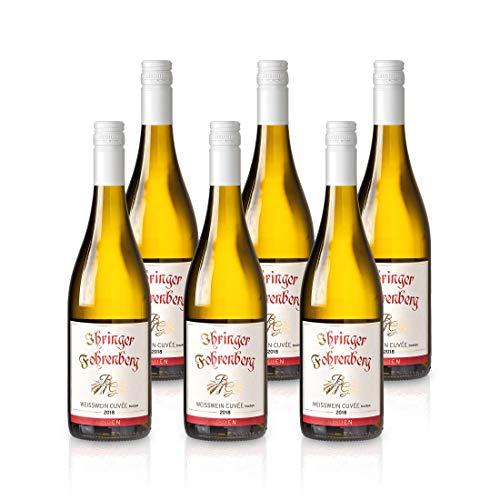 Weißwein trocken 2018 | Grauburgunder Weißburgunder Chardonnay | Ihringer Fohrenberg Kaiserstuhl Baden Deutschland | WBK Glatt | Frisch & Fruchtig (6x 0,75L)