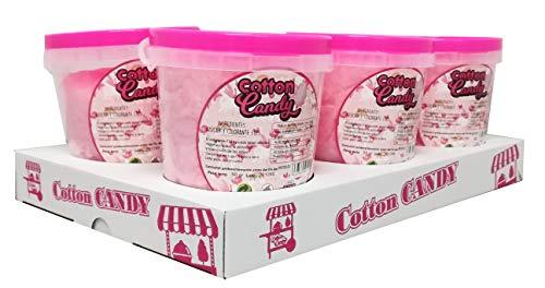 Algodón de Azúcar Rosa Cotton Candy Pack 6 botes 50g Menudos Duendes S.L