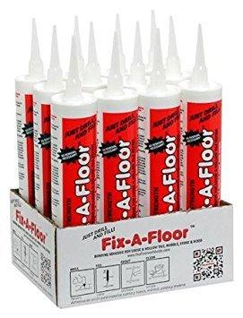 12 x Fix-A-Floor Extra Sterkte Kleefmiddel voor Losse en Holle Tegel Reparatie