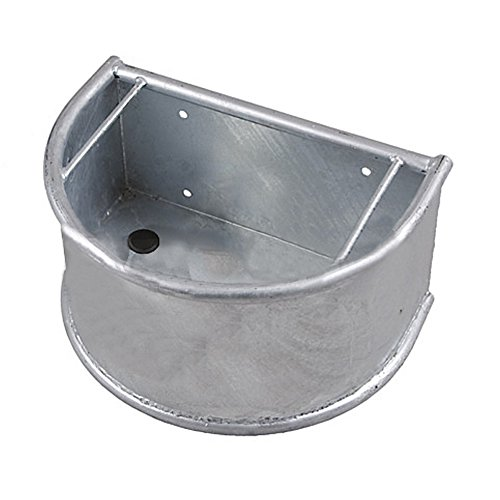 Mangeoire demi-cercle, galvanisée - 332110