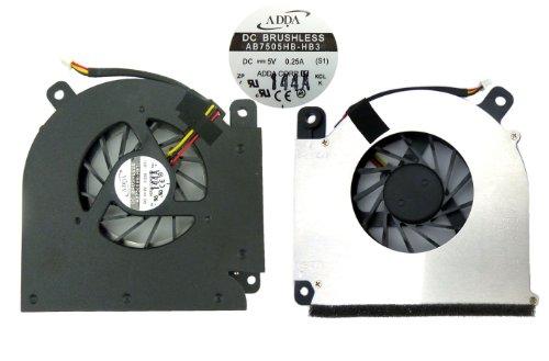 Adda AB7505HB-HB3 S1 - Ventilador de CPU (DC, 5V, 0,25A) para portátiles...