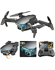 Foldable GPS Drone with 4K UHD Camera for Adults,with Front Vision Obstacle Avoidance, ESC Camera, Follow Me, 26 Minutes Flight Time, Long Control Range, Includes Carrying Bag