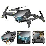 YYQQ Drone with Camera 4K Camera Long Flight Time Optical Flow Mode Dual Camera Auto Avoid Obstacle Track Flight Gravity Sensor, Headless Mode 3D Flip RC Quadcopter for Adults Kids GD89 PRO