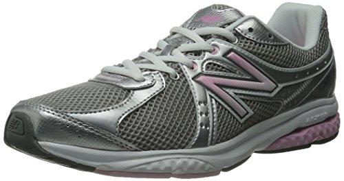 New Balance Women's 665 V1 Walking Shoe, Grey/Pink, 6 2A US