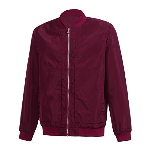 Beonzale Männer Winter Warme Jacke Mantel Outwear Slim Long Sleeve Zipper Tops Bluse Softshell Jacke Outdoor Funktionsjacke Freizeitjacke