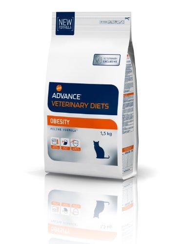 Advance Veterinary Diets - Pienso para Gatos Cat Obesity Dietas Veterinarias 1,5 Kg