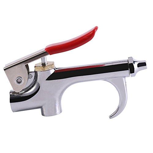 Zinklegering luchtblaaspistool luchtduster compressor blaaspistool kit stof verwijderen pistool schoon te maken gereedschap met mondstuk