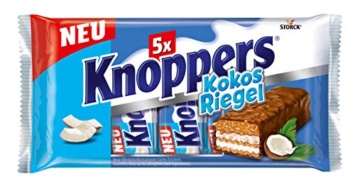 3x Storck Knoppers Kokos Riegel 200g (5x40g)