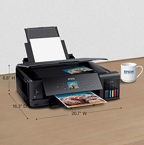 Epson Expression Premium  EcoTank Wireless 5-Color All-in-One Supertank Printer with Scanner, Copier and Ethernet Photo #2