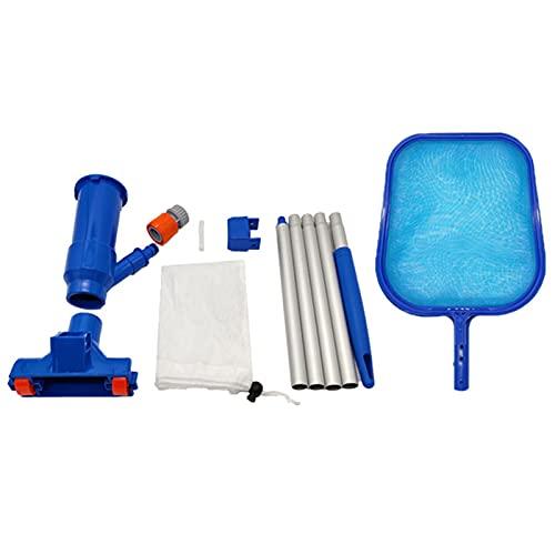 Kit De Limpieza De Piscinas Aspirador del Vacío Skimmer Los Accesorios del Kit De Limpieza Limpieza De La Piscina De La Red del Aspirador del Vacío De La Piscina del Polo para Estanques