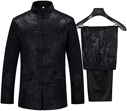 Chinese collar suit _image3