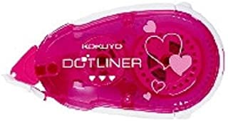 コクヨ テープのり ドットライナー ハート柄 タ-DM405-08 【 3セット】