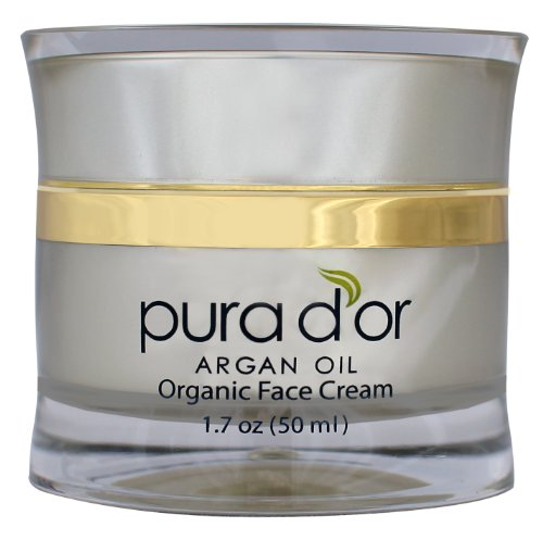PURA D'OR Day & Night Face Cream Anti-Aging Moisturizer Treatment for Face, Men & Women, 1.7 oz