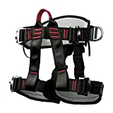 Climbing Harness Safety Thicken Adjustable Half Body Harness for Rock Mountain Tree Climbing <span class='highlight'>Cave</span> Rescue,Other Hand <span class='highlight'>Tools</span>