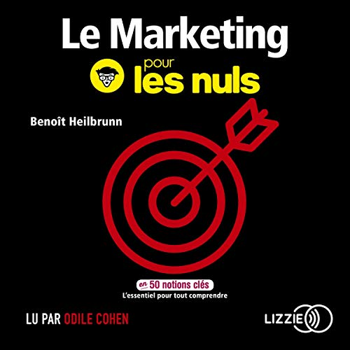 Page de couverture de Le marketing pour les nuls en 50 notions clés