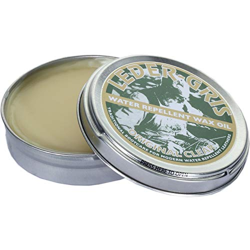 Altberg Leder Gris Original Wax Oil 80g Proofing Neutral