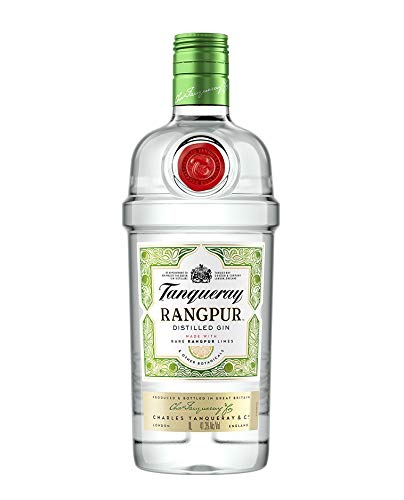 Tanqueray Rangpur Lime Distilled Gin – Ideale Spirituose für Cocktails oder Gin Tonic – 1 x 1L