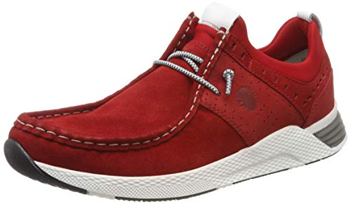 Sioux Herren Grash-H191-40 Sneaker, Rot (Rosso 005), 44 EU