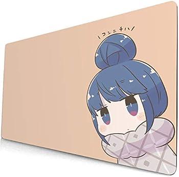 Laid-Back Camp Mouse Pad Rin & Nadeshiko - Yuru Camp Anime Mouse pad Extension Gaming Keyboard pad Desk pad Computer pad Game pad 12  60cm×35cm