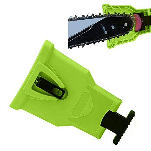 Yellow/Green/Red Chainsaw Teeth Sharpener or Sharpen Rock Bar-Mount Chain Sharpening Tool s (Color : Green)