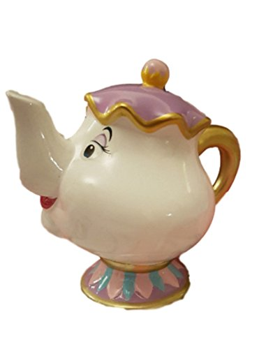 Primark – Alcancía de cerámica con diseño de la Sra. Potts, madre de Chip en la película la Bella y la Bestia