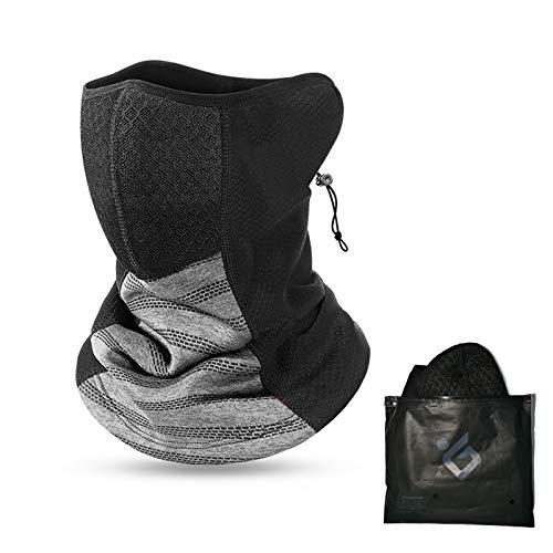 LIBRNTY Unisex Calentador de Cuello,Bragas Cuello Hombre,máscara Caliente para esquí, con Bolsa de Polvo,para Deportiva Bandana Hombre Mujer para Senderismo Correr Aire Libre Pesca