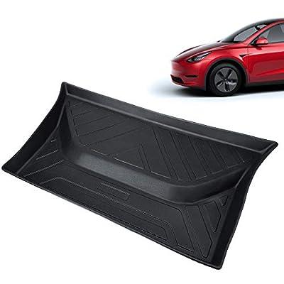 Tesla Model Y Rear Middle Bottom Storage Trunk Liner Sub Trunk Mats All-Weather Cargo Matfor Model Y 2020 2021