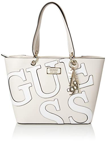 Guess Kamryn, Bolso tipo tote Mujer, Multicolor Nude