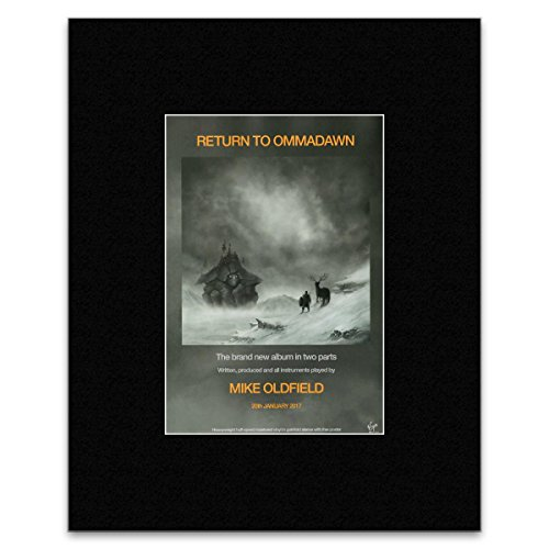 Stick It On Your Wall Mike Oldfield – Return to OMMADAWN Mini Poster – 40,5 x 30,5 cm