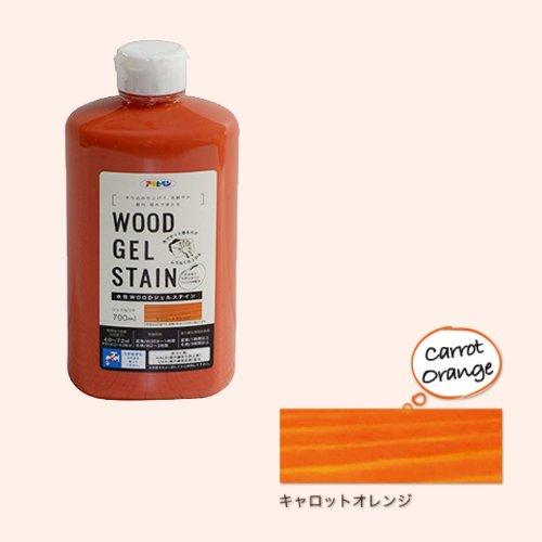 アサヒペン 水性WOODジェルステイン 700ML キャロットオレンジ 9018158