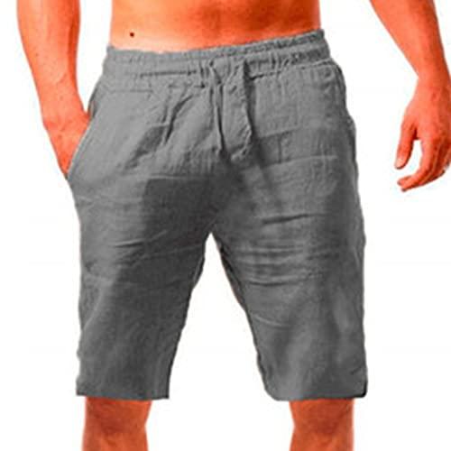 Nuevo 2021 Pantalones cortos Hombre Verano Casual Moda Deporte Running Pants Jogging Original Cortos Color sólido Cordón Pantalon Fitness Gym Suelto Ropa de hombre Cómodo Pantalones de playa shorts